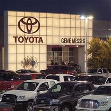 Toyota Dealership Lubbock Gene Messer Toyota Lubbock Tx United States Yelp