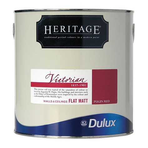 dulux heritage colours 2 5ltr reds kis uk