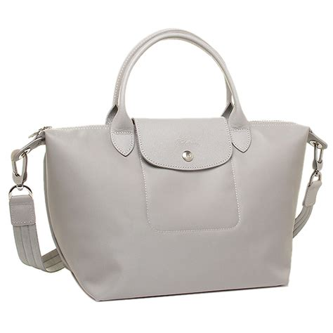 Lc Neo Grey Size S brand shop axes rakuten global market longch shoulder bag longch 1512 578 274 s gray