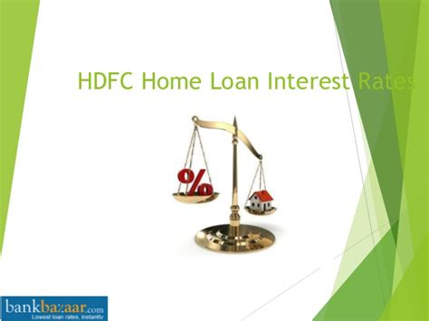 hdfc housing loan interest rate hdfc home loan interest rates