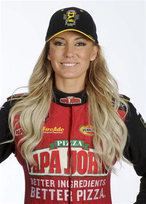 Leah Pritchett is a rising star on NHRA drag strips