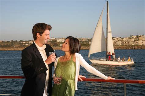 dinner on a boat marina del rey romantic valentines getaway at los angeles marina del rey
