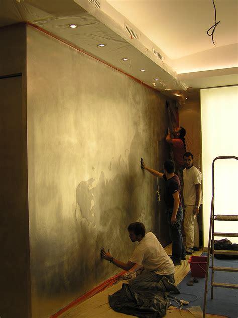 Mur à La Chaux Intérieur 4287 by Cuisine D 195 169 Corateur D Int 195 169 Rieur Oxydation D Un Mur En M 195