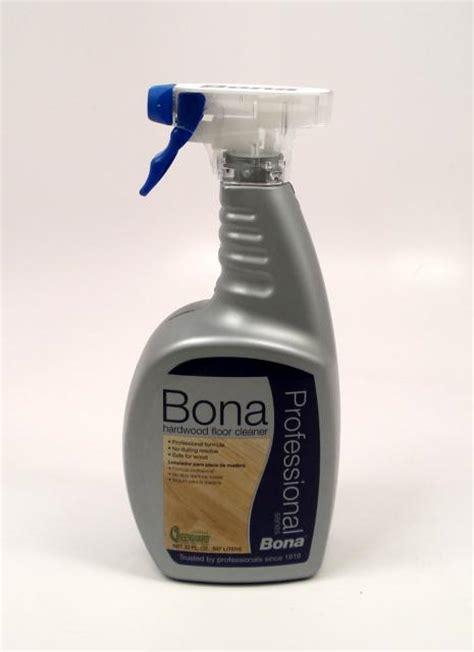 Bona Pro Hardwood Floor Cleaner by Bona Pro Series Hardwood Floor Cleaner Spray Quart