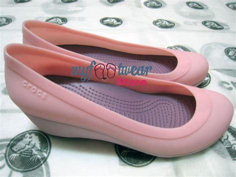 Sepatu Wedges Sg2086 Pink myfootwearstore pusat sepatu crocs murah surabaya carlisa wedges original
