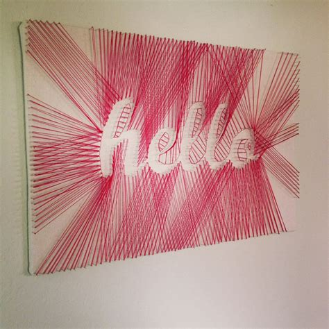 Diy String Wall - hello diy string diy projects weekly diy ideas