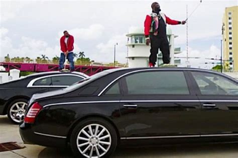 rick ross maybach car rick ross and dj khaled tee up on top of a maybach and