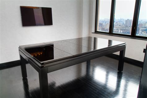 How To Make A Pool Table Dining Top Pool Table Modern With Masculine Black Modern Pool Table With Dining Top Design Popular Home