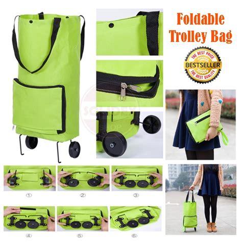 Dompet Trolley Trolley Bisa Dilipet Jadi Tas tas belanja lipat memudahkan anda membawa banyak barang dalam segala aktivitas harga jual