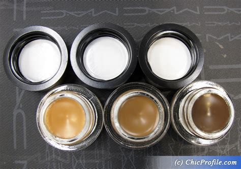 Mac Eyebrow Gel mac fluidline brow gel creme swatches trends and