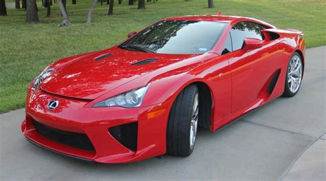 lfa lexus red absolutely red lexus lfa looking for new owner