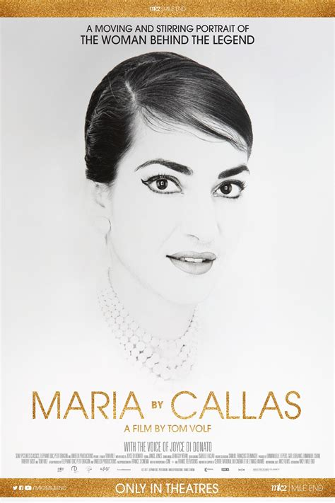 maria callas movie review maria by callas movie information