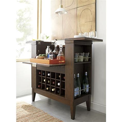 spirits bourbon cabinet copy cat chic crate barrel spirits bourbon cabinet