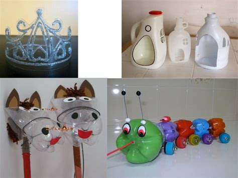 adorno com botella decartable juguetes para ni 241 os hechos con botellas recicladas