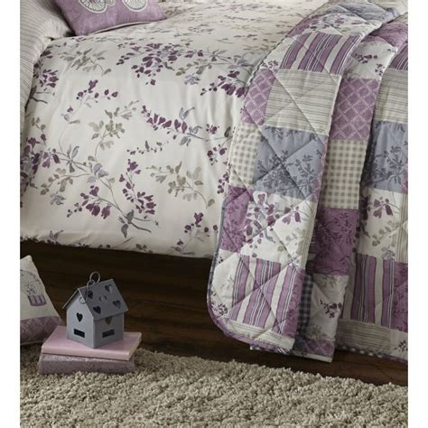 dreams bedding dreams n drapes lila lilac quilted patchwork bedspread