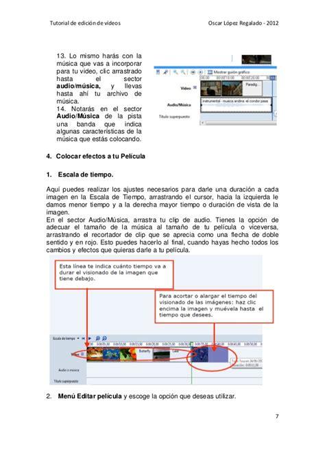 tutorial editar videos windows movie maker tutorial para editar videos con movie maker