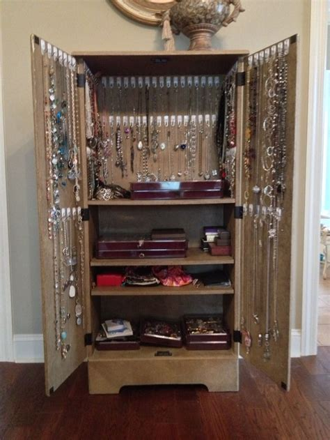 Jewelry Storage Cabinet 1000 Ideas About Tv Armoire On Armoires Armoire Bar And Liquor Cabinet