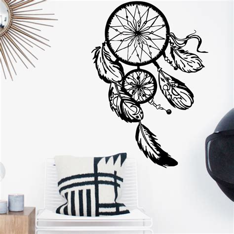 home decor decals aliexpress buy dreamcatcher wall sticker vinyl home