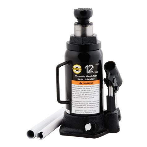 omega 12 ton hydraulic bottle 10125b the home depot
