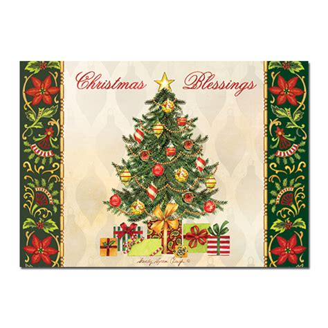 christmas blessings tree black christmas cards african