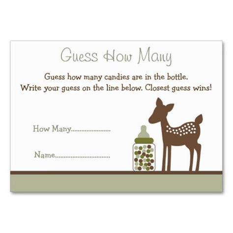 Guess Velantica 3059 1 15 best baby shower images on baby shower business cards and carte de