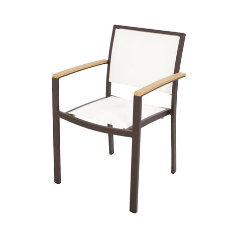 White Sling Patio Chairs by Manufacturing Quik Fold White Patio Chair 8575 48