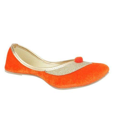 orange flat shoes for carlton coral orange flat shoes price at