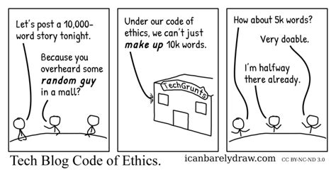 Is A Blogging Code Of Conduct Really Necessary by Tech Staff Agree That Their Code Of Ethics Won T Let