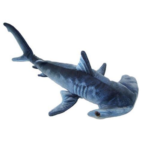 Shark Plushie adventure planet plush printed hammerhead shark 24