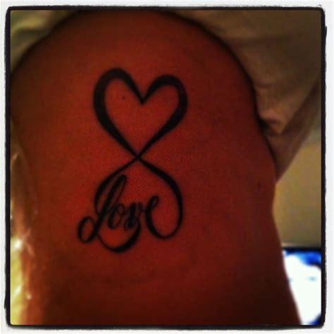 revolution tattoo infinity i got done by tim at revolution tattoos in