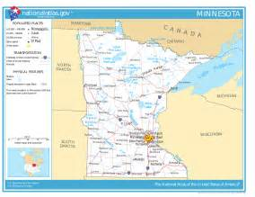 Mn State Map by Minnesota Facts National Parks Landmarks And Pictures