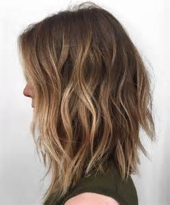 balayage with light brown hair