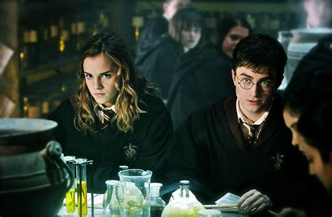 Hermione Granger Potions by The Wand Chooses The Wizard Harry And Hermione In Potions