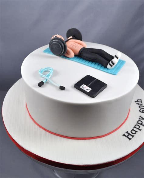 birthday themed workouts 60th birthday workout themed cake cakecentral com