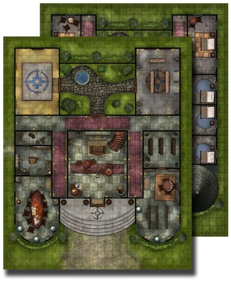 paizo gamemastery flip mat pathfinder lodge
