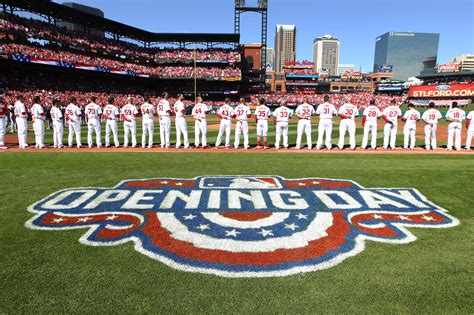 opening day for the st louis cardinals