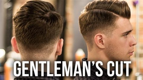 young gentlemans hairstyle men s haircut for 2016 modern gentleman s haircut