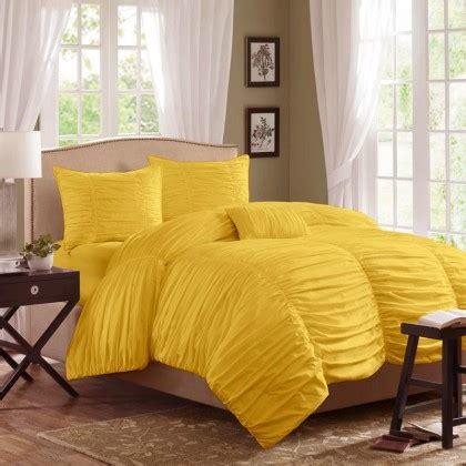 yellow ruffle comforter ruffles bedding