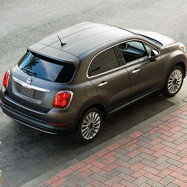 fiat 500 aerial fiat 500x awd crossover from fiat