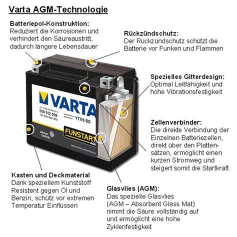Motorradbatterie Honda Cbf 1000 by Varta Motorrad Batterie Honda Cbf 1000 S Abs Agm Ebay