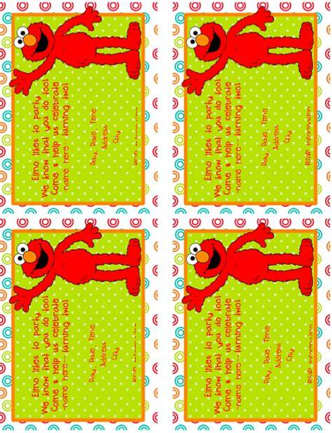 printable elmo party decorations elmo birthday party with lots of printables 2nd bday