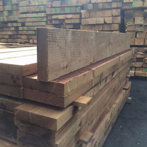 Softwood Sleepers by Softwood Sleepers New Celtic Timber