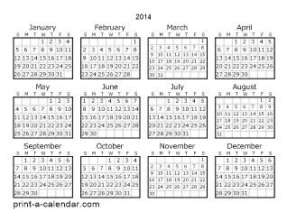 printable calendar grid 2014 download 2014 printable calendars