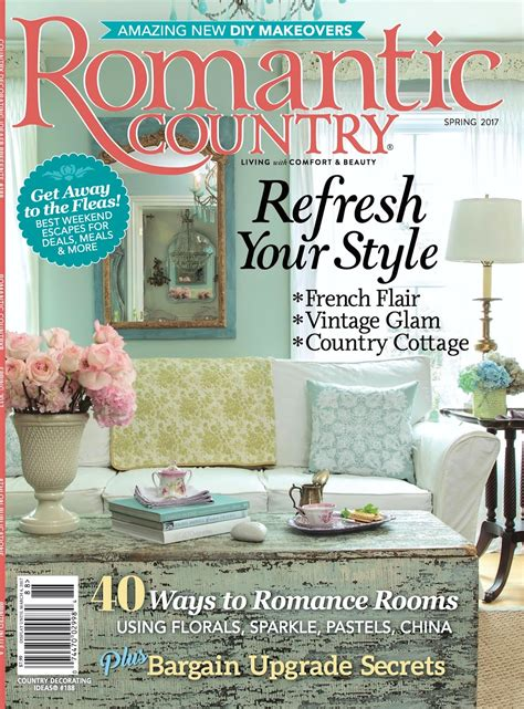 country home decorating magazine maison decor my home makes the cover of romantic country