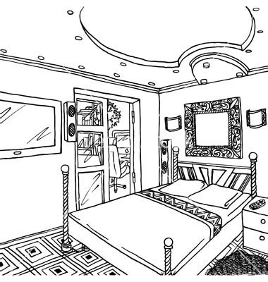 bedroom clipart black and white clip art black and white bedroom clipart clipart suggest
