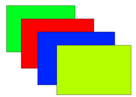 Rectangle java how to determine what rectangle is on top stack