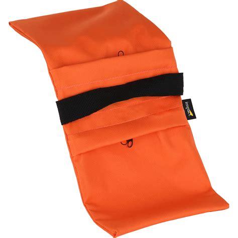 B Lb Orange impact empty saddle sandbag 5 lb orange cordura sbe o