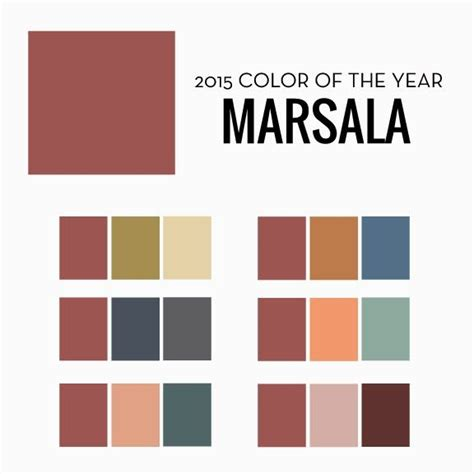 pantone has announced it s 2015 color of the year and it s marsala here s a few ideas we