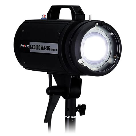 High Intensity Lighting Fixtures Fotodiox Announces High Intensity Led Strobe Style Lights For Still And Lighting
