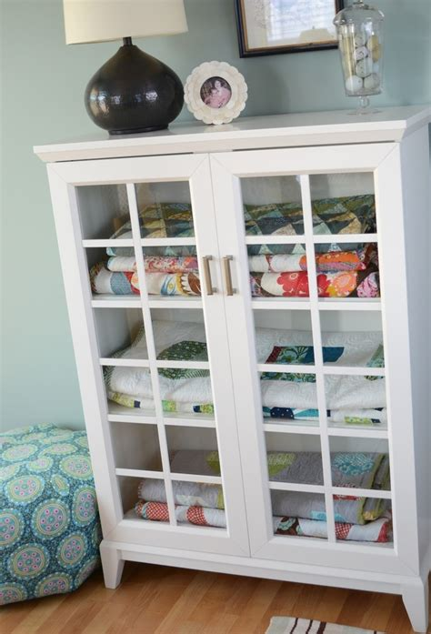 Quilt Storage Cabinets Pin By Nell Niewiadomski On Quilting Pinterest